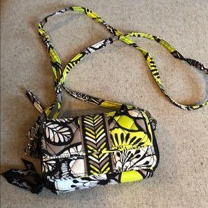 Vera Bradley wallet with shoulder strap